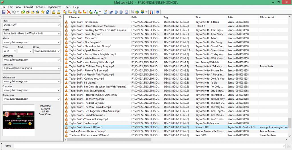 Best Audio Universal Tag Editor – Mp3tag v2 66 Free Full Version